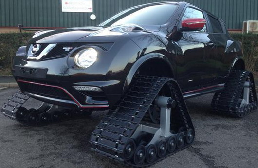 Nissan Juke Nismo RSnow Ready for The Worst Winter
