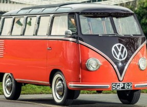 Volkswagen Samba Type 2 from 1955 for $ 100,000
