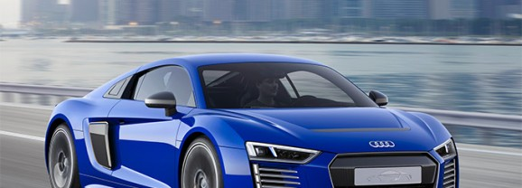 Audi R8 E-Tron Piloted Driving Technical Concept