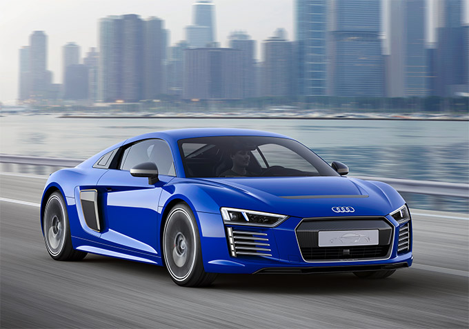 Audi R8 E-Tron Piloted Driving Technical Concept 01
