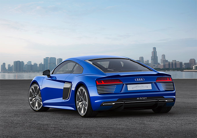 Audi R8 E-Tron Piloted Driving Technical Concept 02