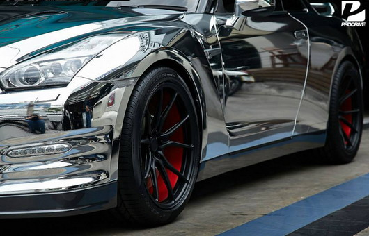 Chrome Nissan GT-R by Prodrive 03