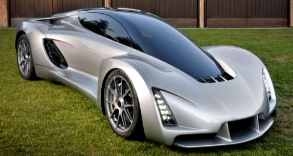 First 3D printed supercar