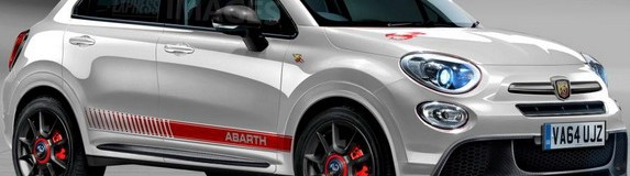 Possible Look of 500X Fiat Abarth