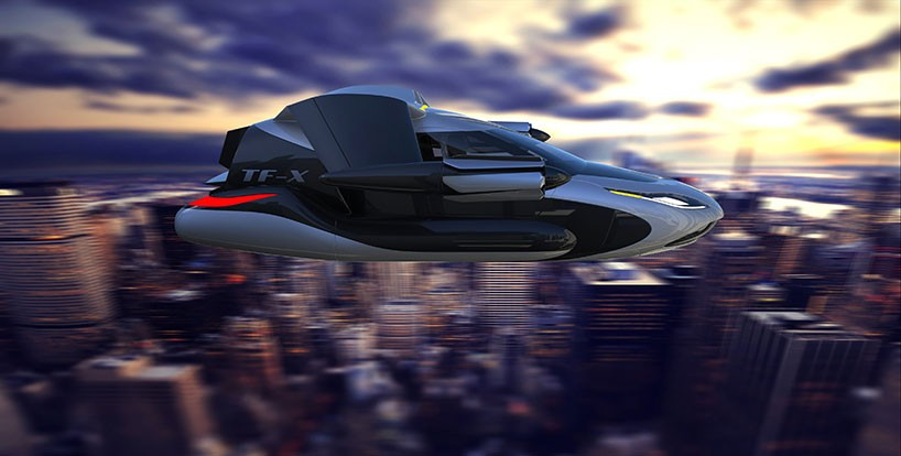 Terrafugia's TF-X Flying Car 02