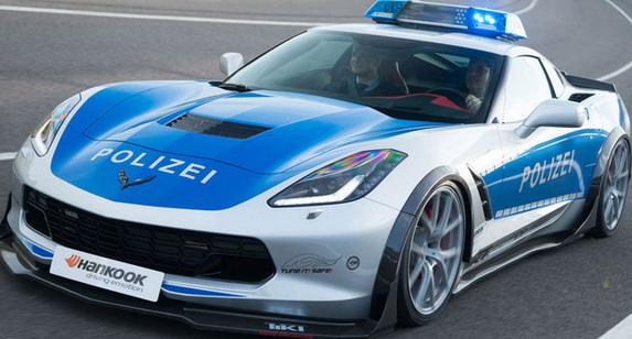 Tikt Performance Corvette C7 Stingray Police 02
