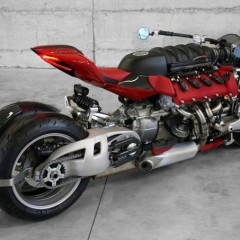 Lazareth LM 847 Quad-Wheel Motorcycle