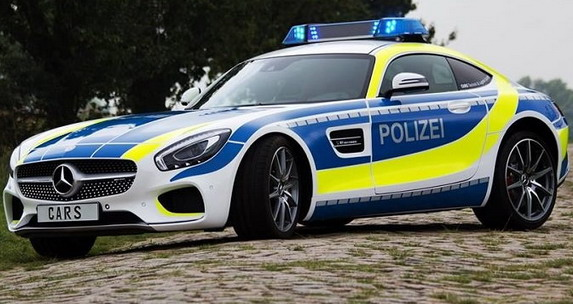 No comment: Mercedes-AMG GT S in German police Fleet