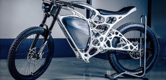 Light Rider – World's First 3D Printed Electric Motorcycle