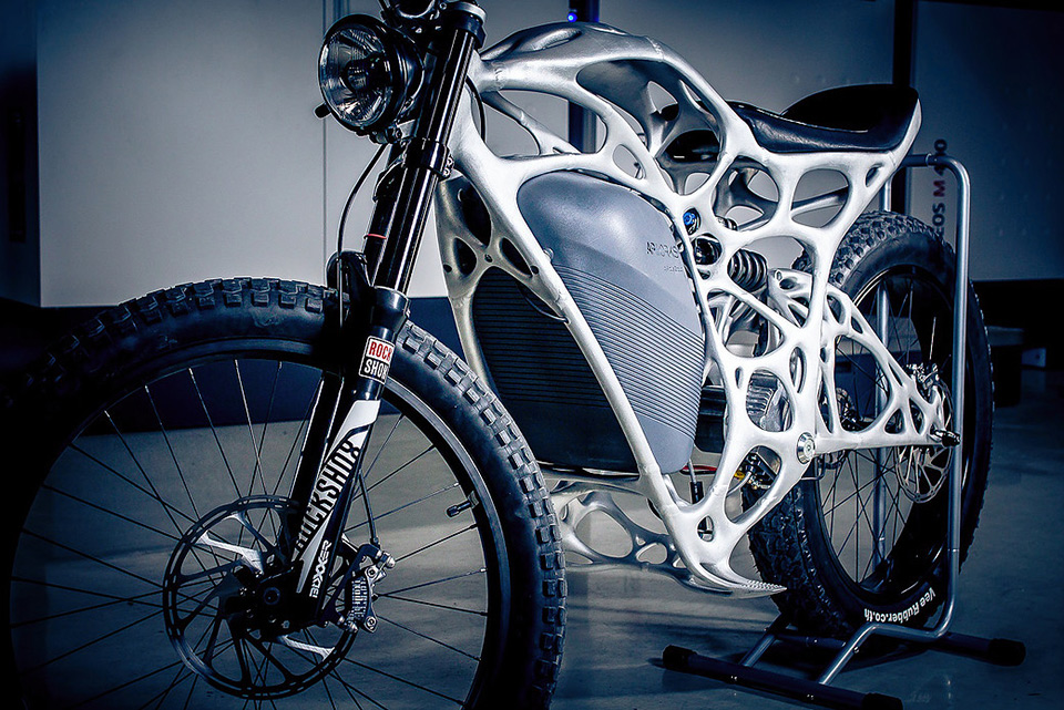 Light Rider - 3D Printed Electric Motorcycle 04