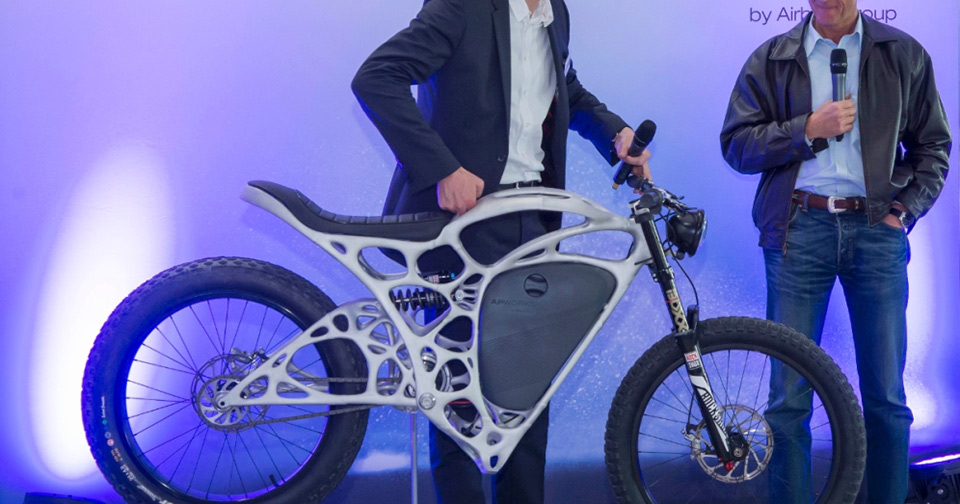 Light Rider - 3D Printed Electric Motorcycle 06