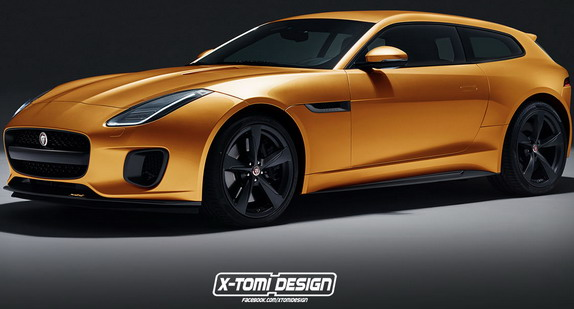 Jaguar F-Type Shooting Brake Shooting Brake