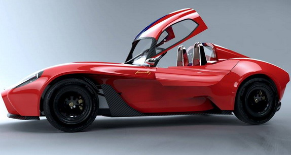 Jannarelly Design-1 and With a Hardtop