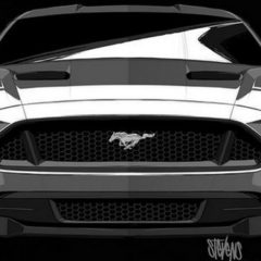 Ford Mustang (2018) Inspired by Darth Vader