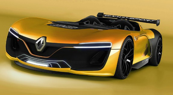 New Modern Look of Renault Spyder