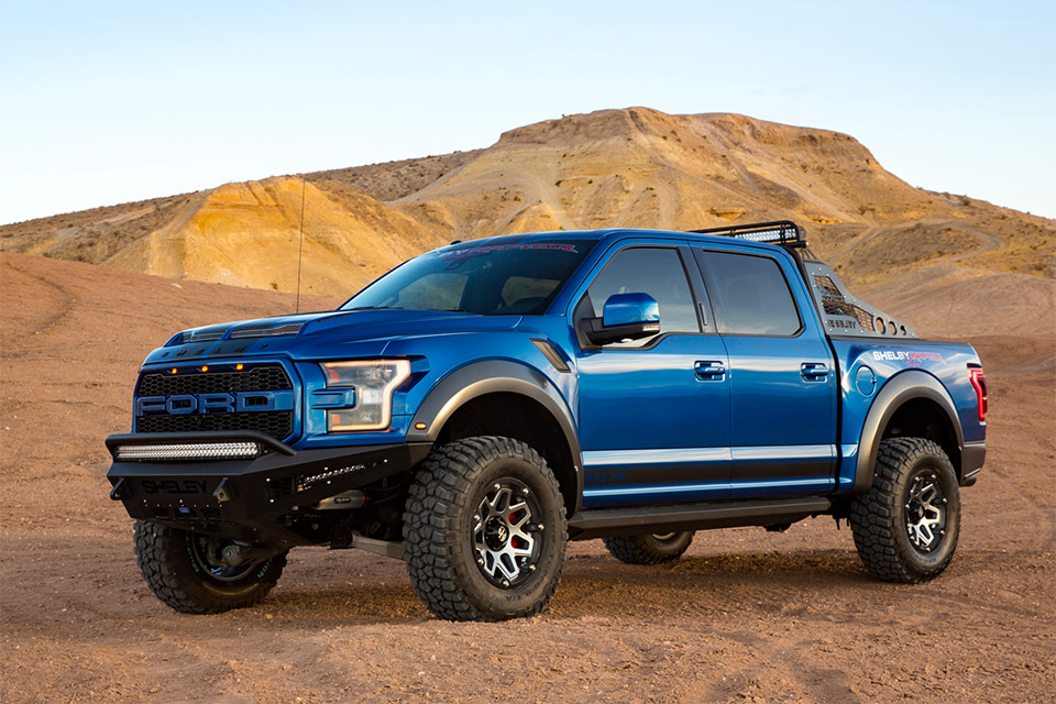 525 Horsepower Shelby Baja Raptor