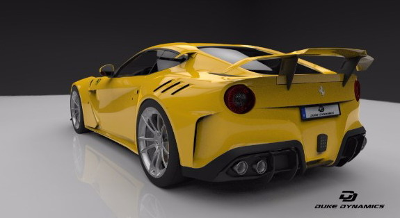 Ferrari F12 Berlinetta Model Car by Duke Dynamics