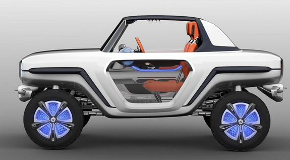 Suzuki Small Car Concept Named e-SURVIVOR