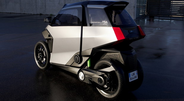 PSA PHEV Light Vehicle Concept
