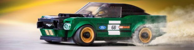 Lego Speed ​​Champions Ford Mustang Series