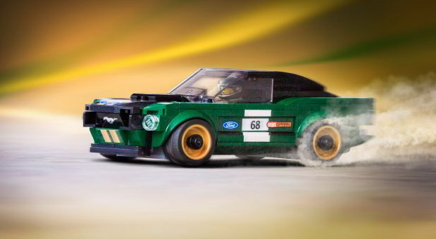 Lego Speed Champions Ford Mustang Series