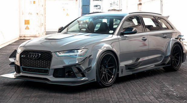 Audi RS6 Avant 2018 RACE! from South Africa
