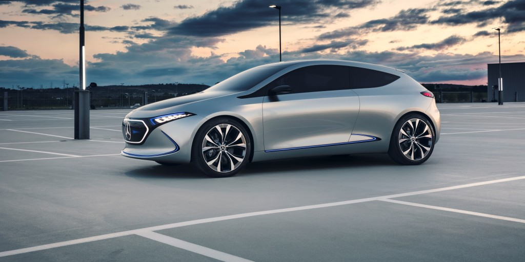 Mercedes Eqa Electric Concept Car Revealed In New Video