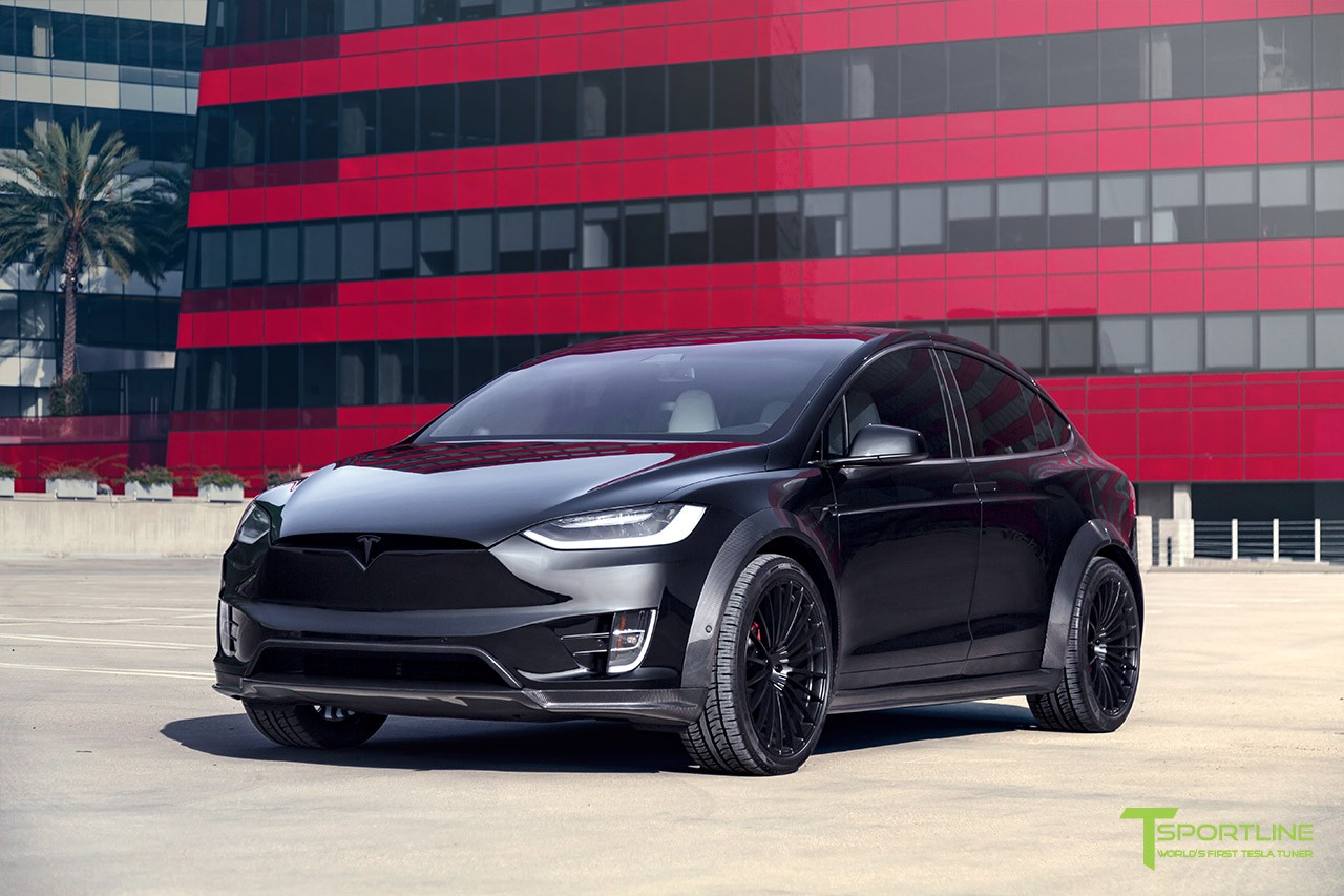 Tesla Model X Limited Edition by T Sportline Design