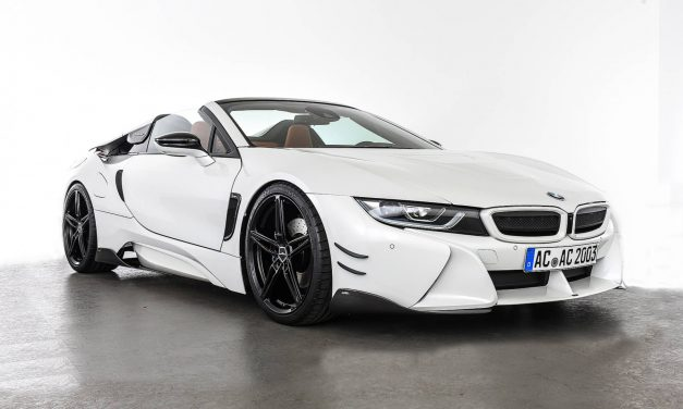 AC Schnitzer BMW i8 Roadster Looks More Aggressive