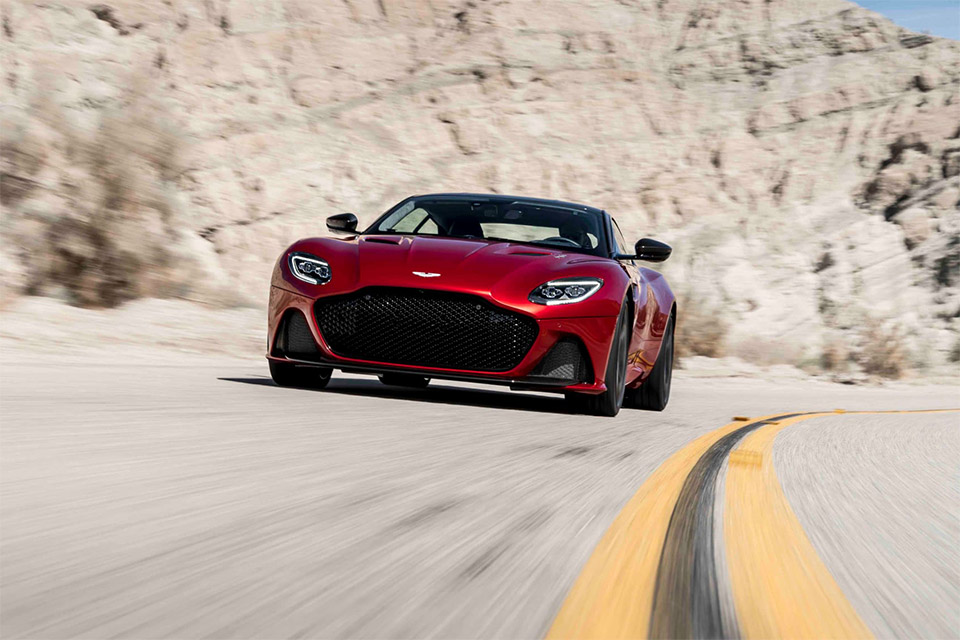 New Aston Martin DBS Superleggera Unveiled