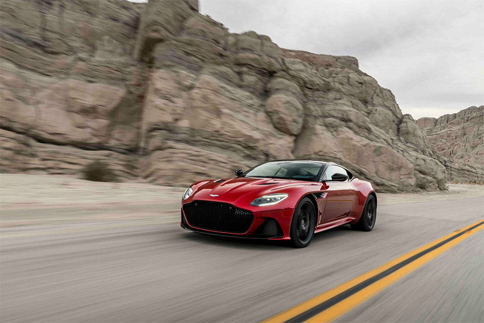 New Aston Martin DBS Superleggera Unveiled - Cars show