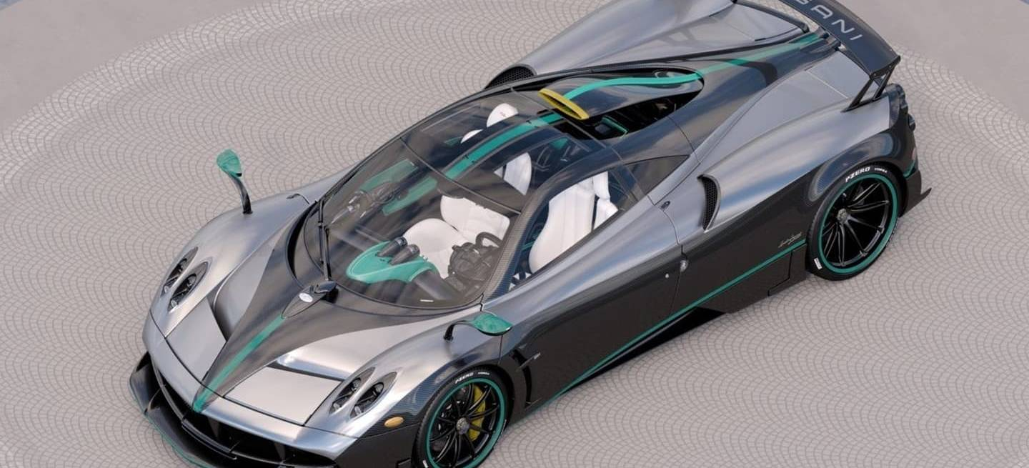 The Last Pagani Huayra L\'Ultimo with 800hp - Cars show