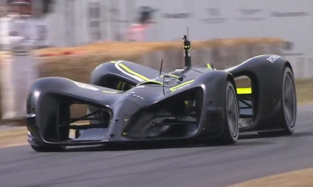 Roborace Robocar an Autonomous Racing Car