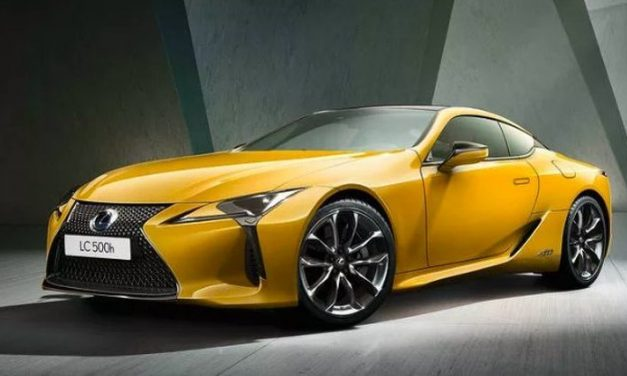 Yellow Lexus LC Limited Edition in Paris this October