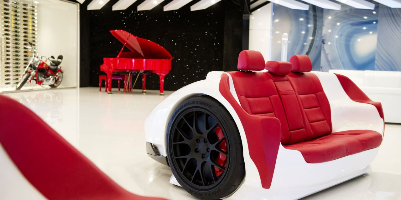 Racing Desks and Racing Sofas by Design Epicentrum