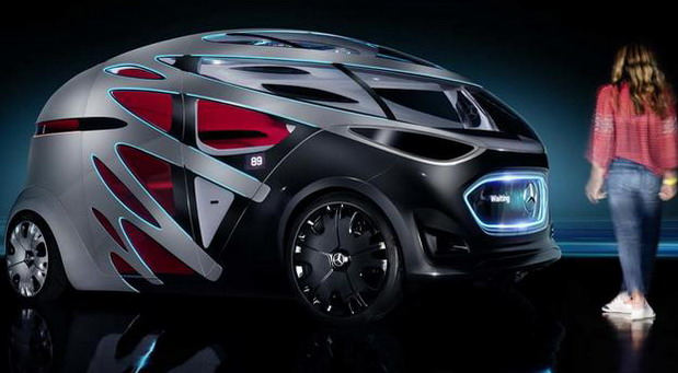 Mercedes-Benz Vision Urbanetic Autonomous Urban Vehicle