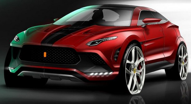 Ferrari Purosangue SUV Arrives in 2022
