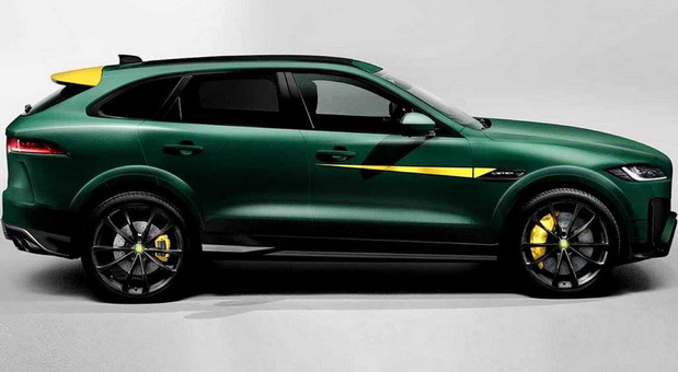 Lister Jaguar F-Pace with 670HP