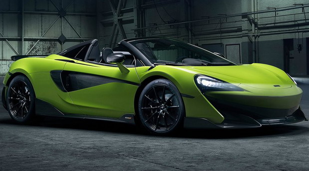 McLaren 600LT Spider with V8 Twin-Turbo Engine