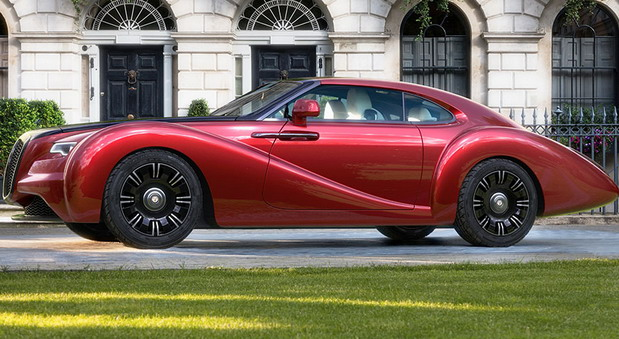 Eadon Green ZRR Coupe tuned Rolls-Royce