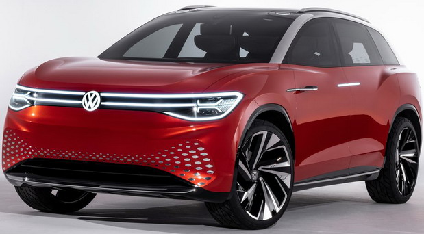 Volkswagen ID Roomzz Concept Electric SUV