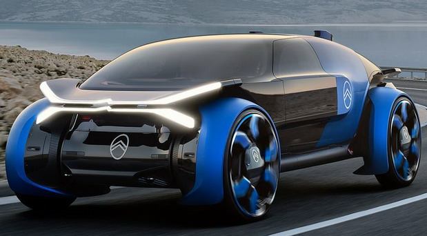 Citroen 19_19 Concept Vehicle