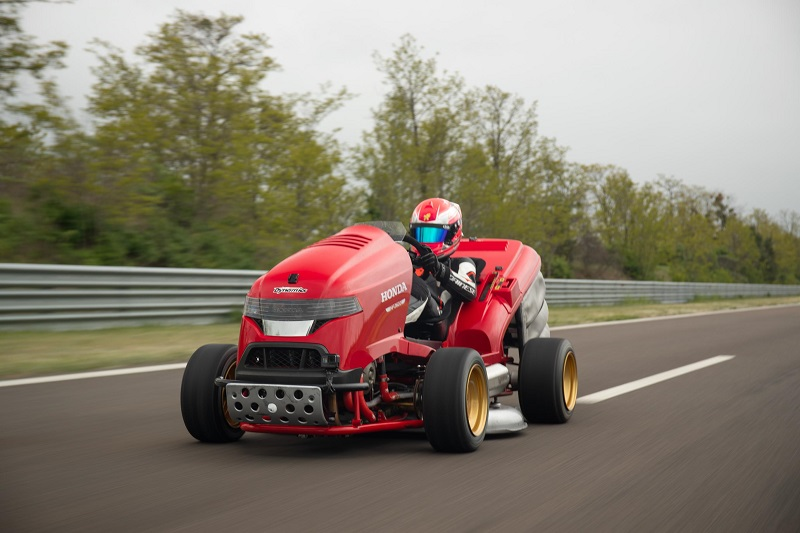 Honda Mean Mower with 205hp and Max Speed of 243km/h