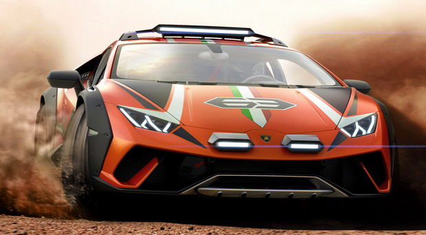 Lamborghini Huracan Sterrato Concept Sports Car