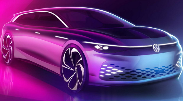 Volkswagen ID Space Vizzion Electric Vehicle