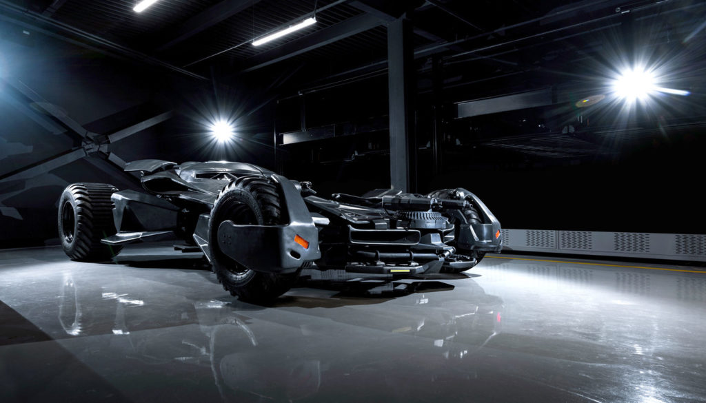 Real Batmobile With Tank Engine On Sale