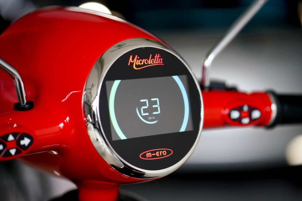 Microletta electric scooter