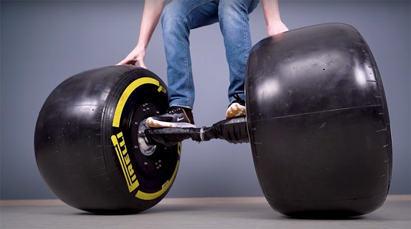 Formula 1 Wheels on a Hoverboard by The Q1